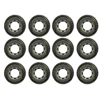 36 in. Inflatable Giant Tire Pool Tube (12-Pack)