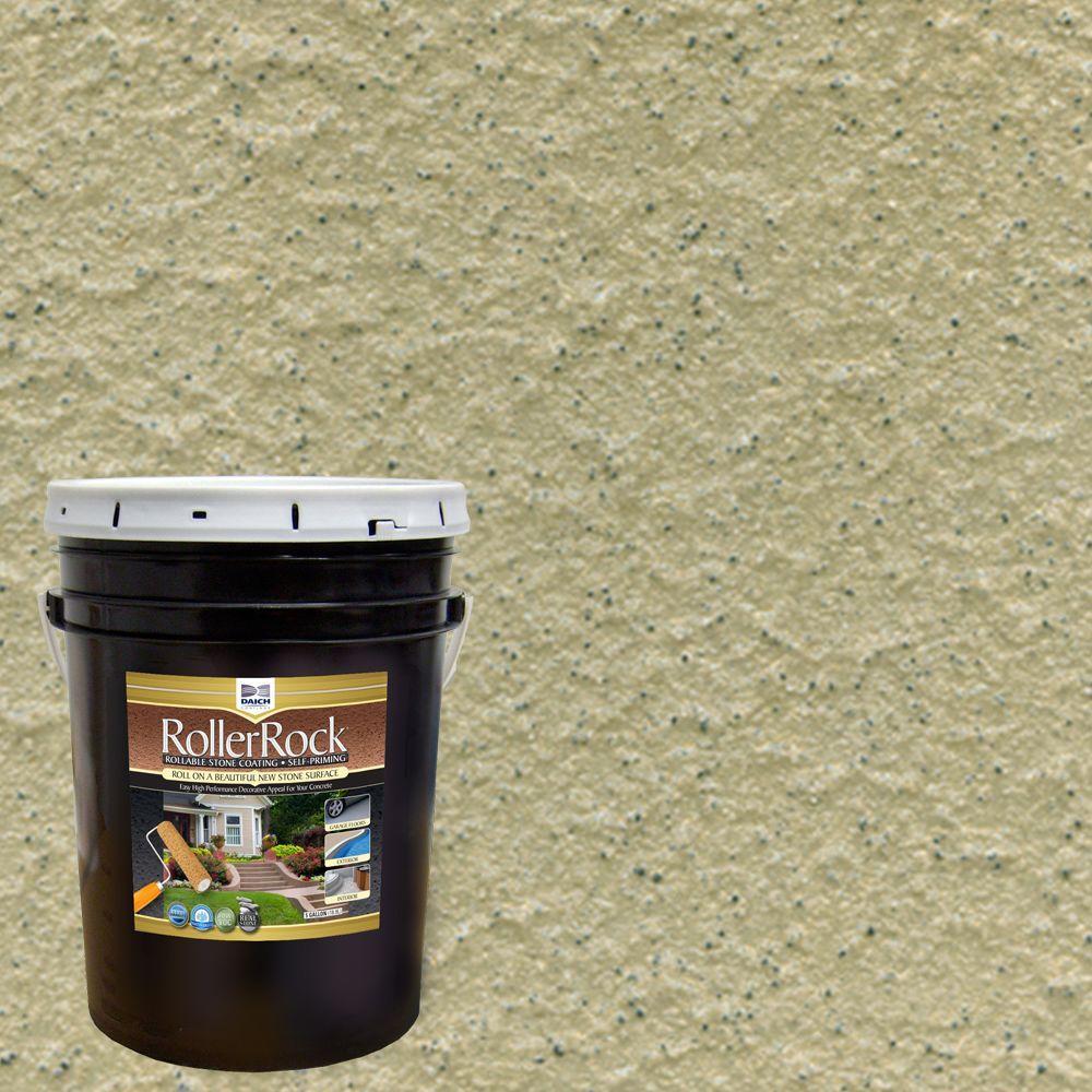 DAICH RollerRock 5 gal. Self-Priming Coriander Exterior Concrete Coating