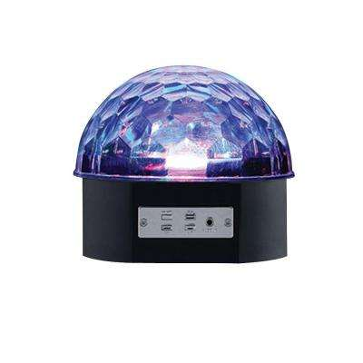 6 in. Black LED Music Party Light