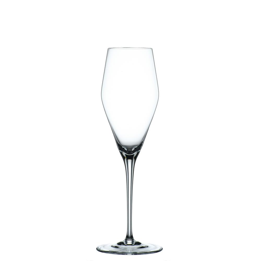 Vinova 9.88 oz. Champagne Glasses in Clear (Set of 4)