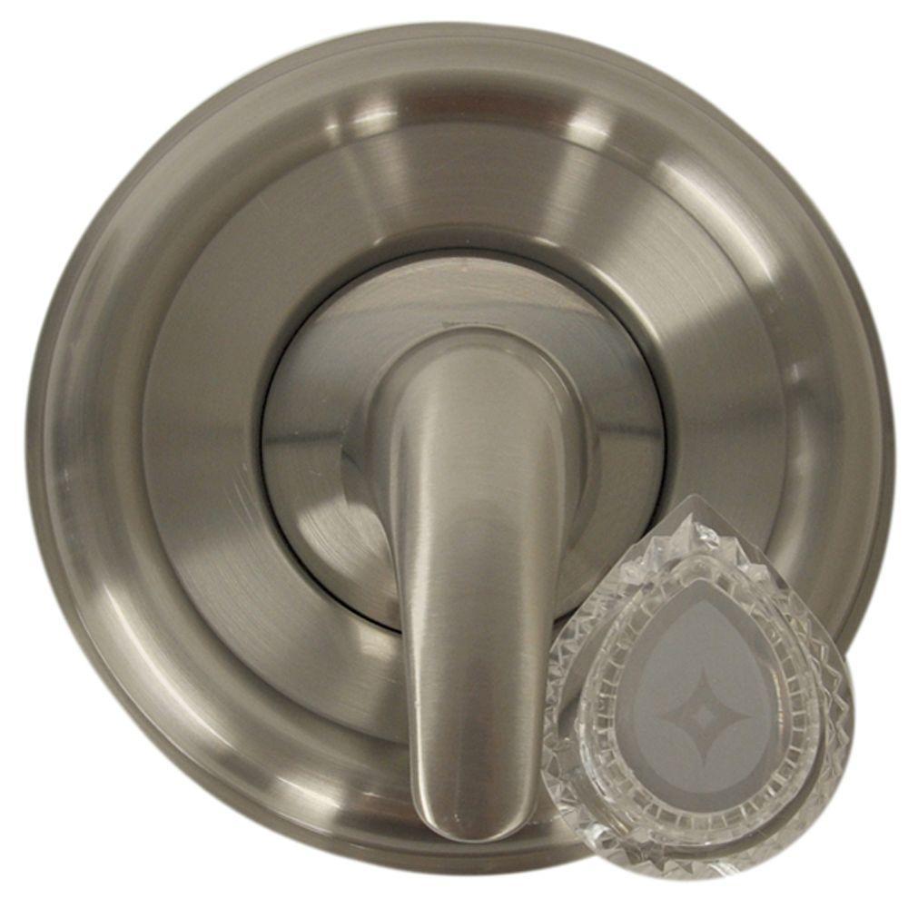 Single-Handle Valve Trim Kit for MOEN Tub/Shower in Brushed Nickel