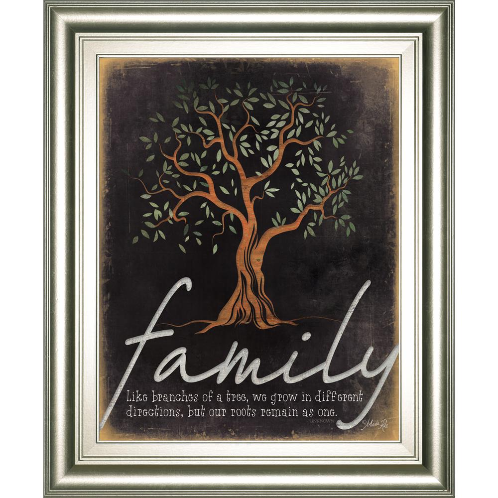 """22 in. x 26 in. """"Family Life Branches of a Tree"""""""