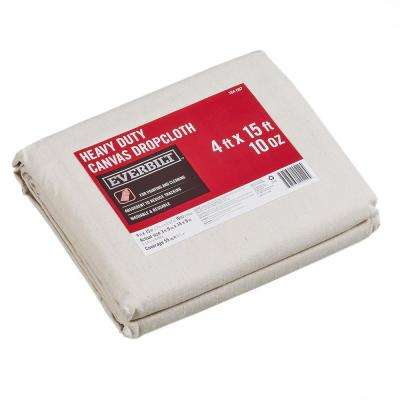 3 ft. 9 in. x 14 ft. 9 in. 10 oz. Canvas Drop Cloth