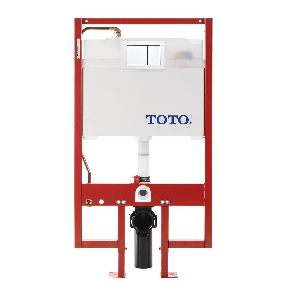 UPC 739268188143 - Toto WT152800M#WH White Duofit Duofit In-Wall ...