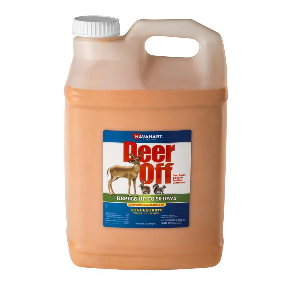 Deer Off 2.5 Gal. Deer, Rabbit and Squirrel Repellent Concentrate