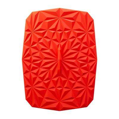 Rectangular Suction 9x13 Silicone Lid in Red
