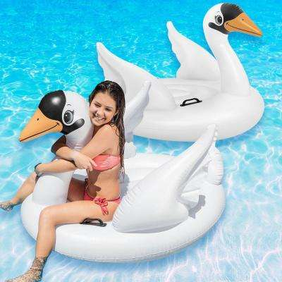 Swan Ride-On Pool Float (2-Pack)