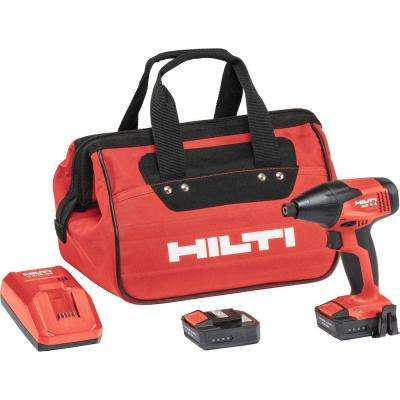 12-Volt Lithium-Ion 1/4 in. Cordless Impact Driver SID 2-A