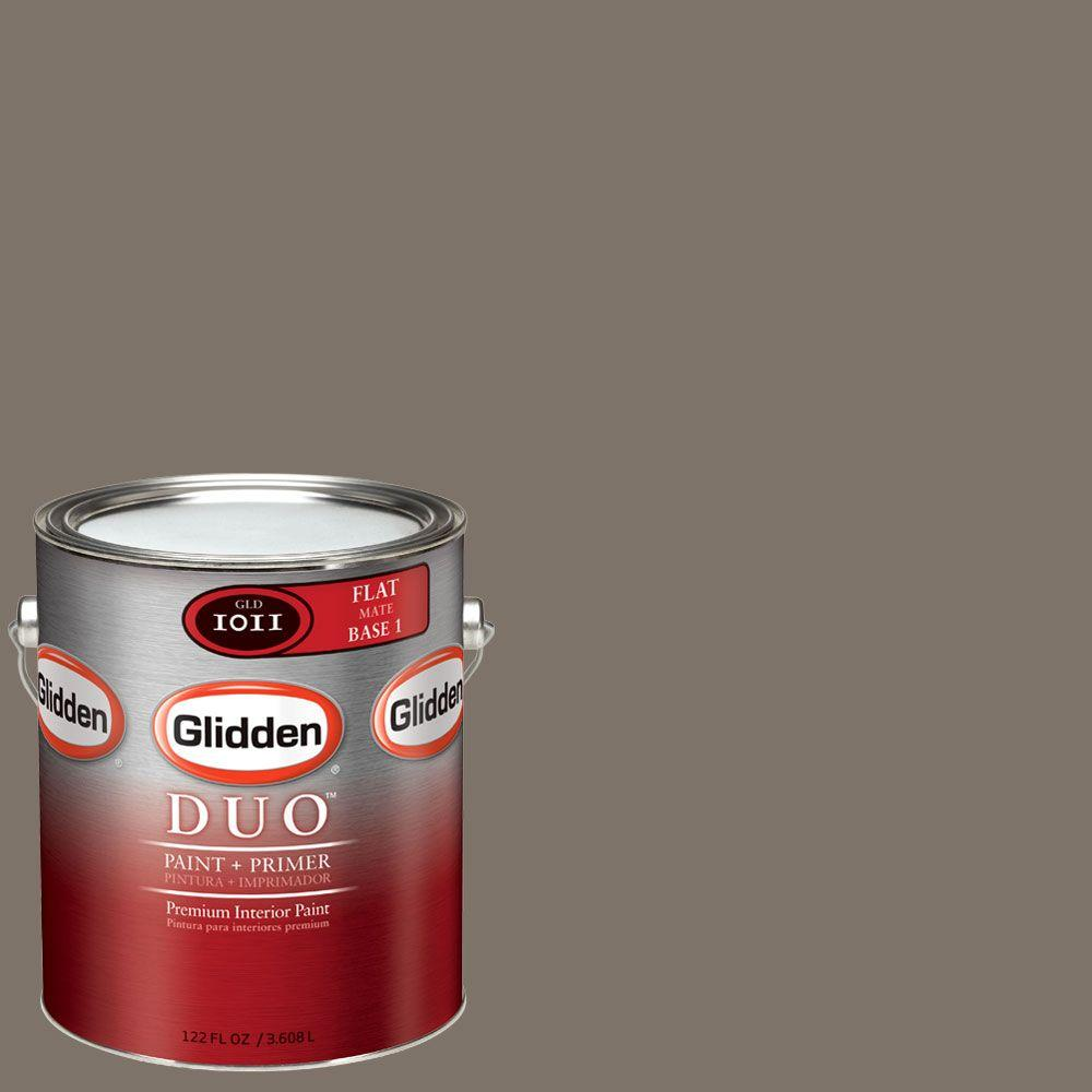 Glidden DUO Martha Stewart Living 1-gal. #MSL244-01F Brook Trout Flat Interior Paint with Primer - DISCONTINUED