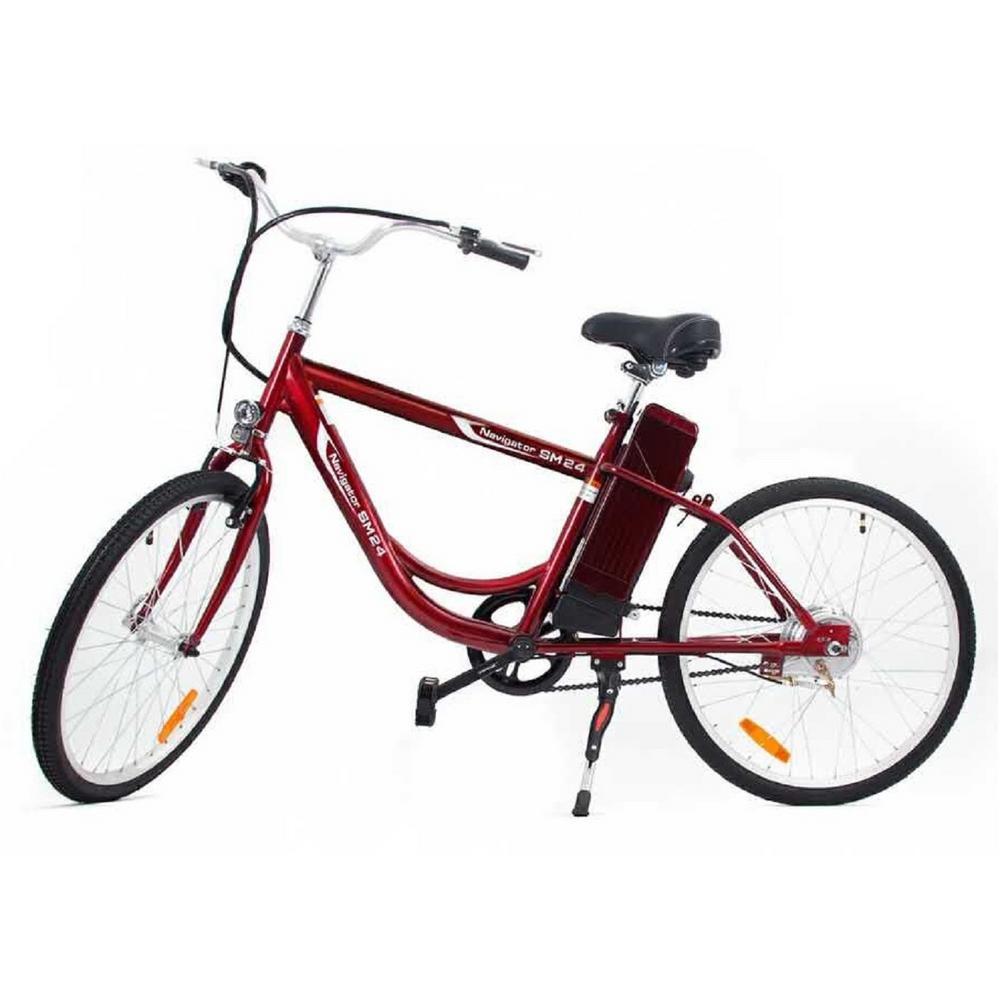 Urban Street Electric 24 inch Age 16 Unisex Bike by