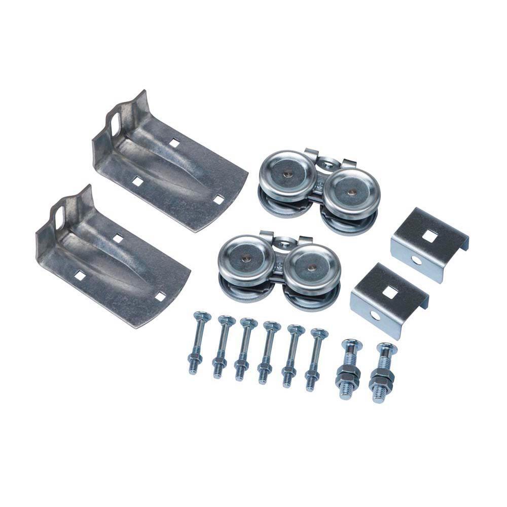 Zinc-Plated Flexible Box Rail Hanger Kit