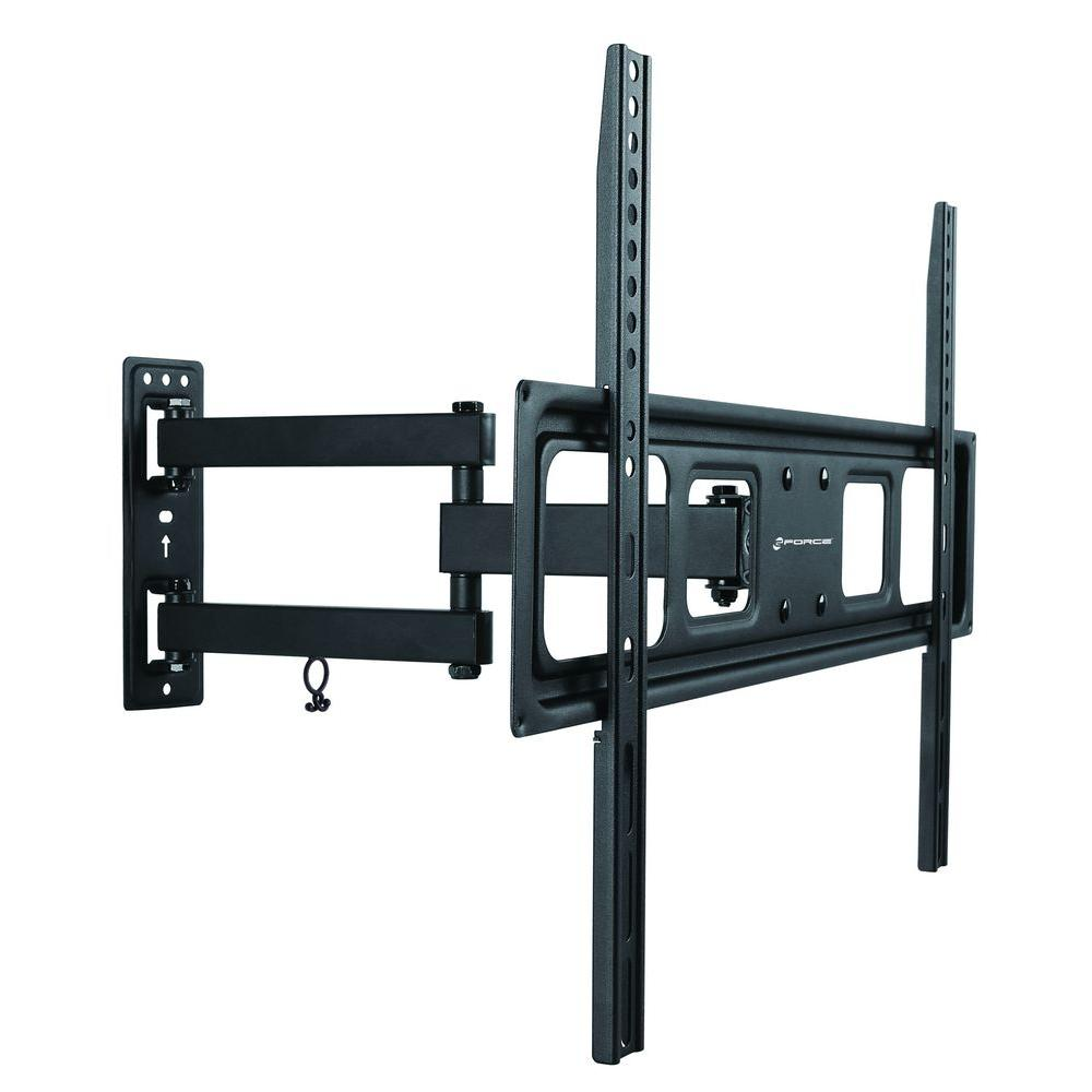 gforce full motion 37 in 70 in tilt and swivel tv wall mount bracket gf p1124 1172 the. Black Bedroom Furniture Sets. Home Design Ideas