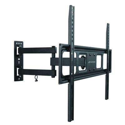 Full Motion 37 in. - 70 in. Tilt and Swivel TV Wall Mount Bracket