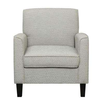 Upholstered Natural / Edinburgh Black Accent Chair