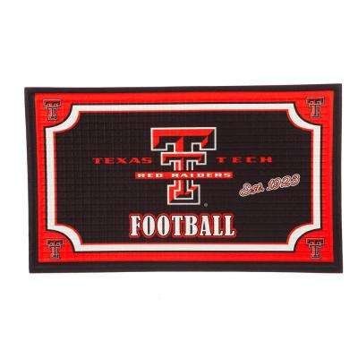 Texas Tech University 18 in. x 30 in. Embossed Welcome Mat