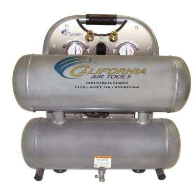 4.6-Gal. 1 HP Ultra Quiet Oil-Free and Lightweight Electric Air Compressor