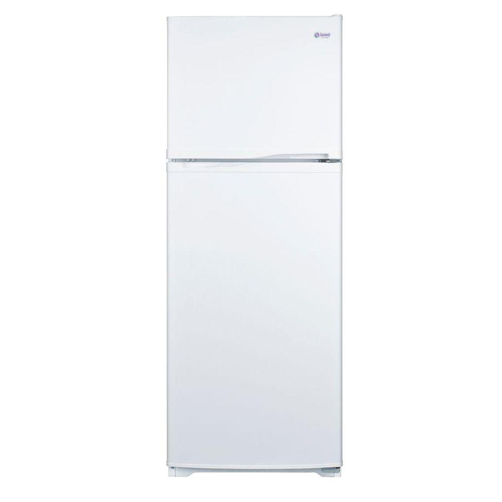 Summit Appliance 8.86 cu. ft. Top Freezer Refrigerator in White-DISCONTINUED