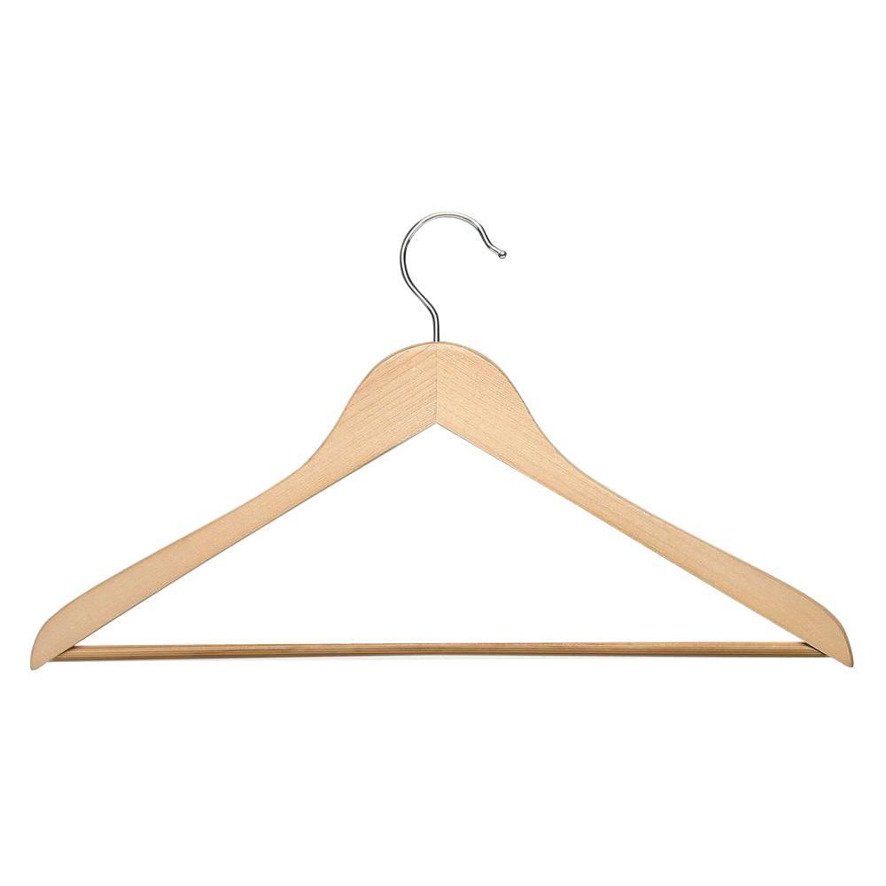 Maple Wood Suit Hanger (10-Pack)