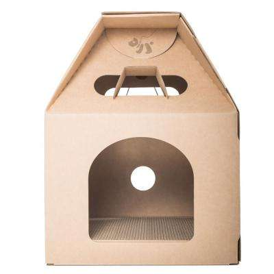 DJ 21 in. Cat Milk Box House
