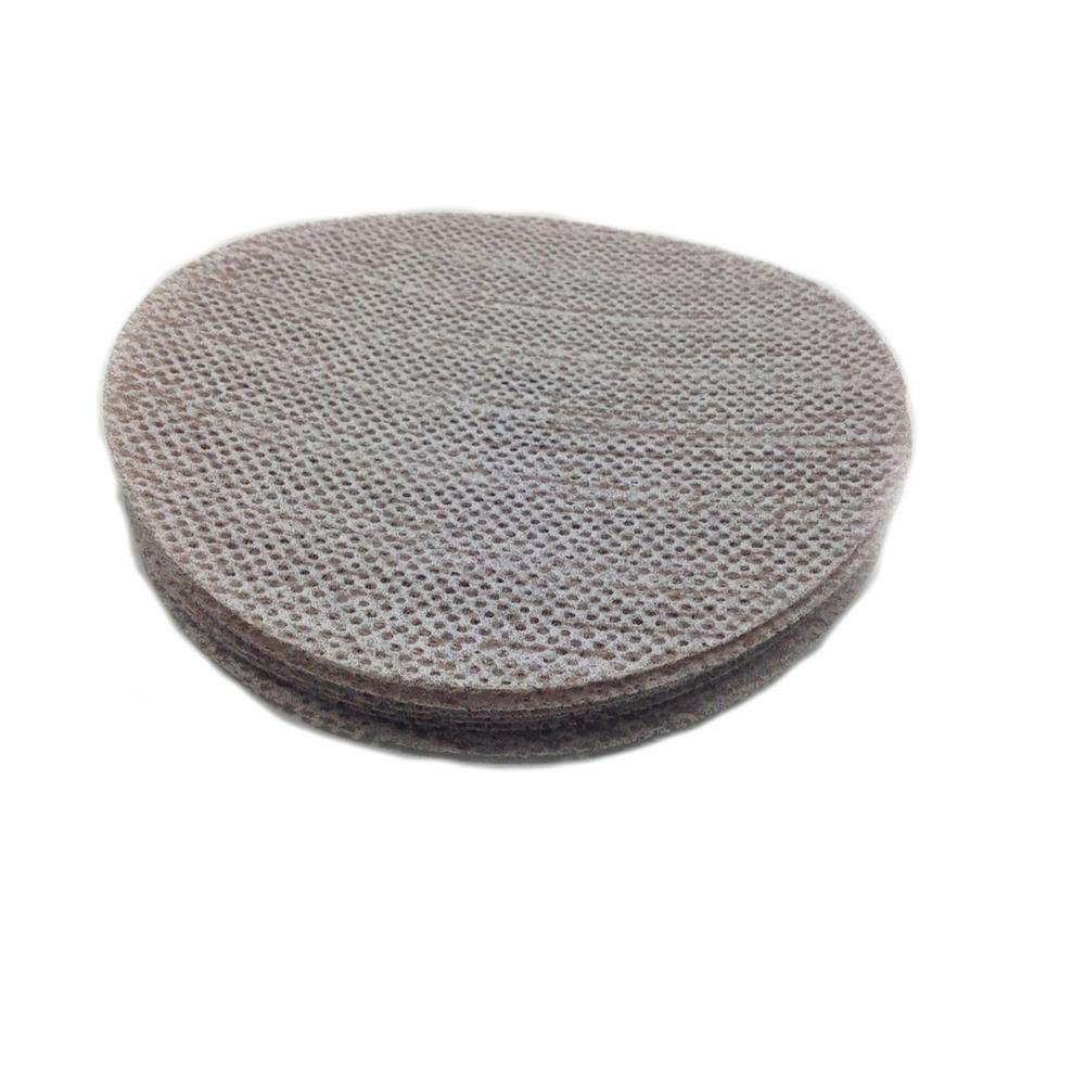 Sungold Abrasives 91-505-320 Trinet 5-inch Hook and Loop Mesh Sanding Discs 320 Grit 50-Pack