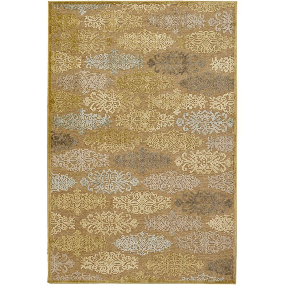 Blythe Tan 8 ft. 8 in. x 12 ft. Area Rug