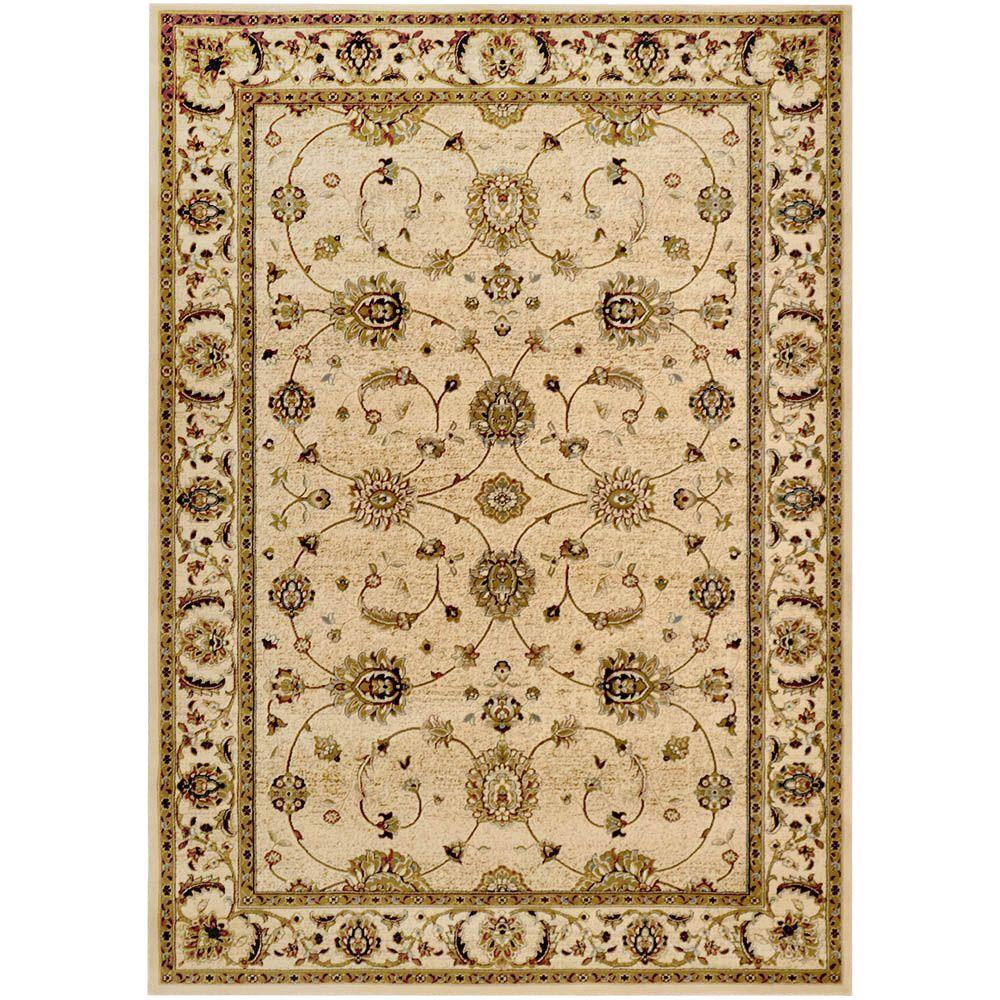 Home Dynamix Triumph Beige 9 ft. 2 in. x 12 ft. 5 in. Indoor Area Rug