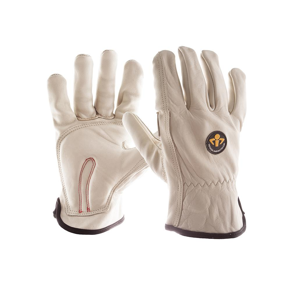 Large Full Finger Leather Carpal Tunnel Glove