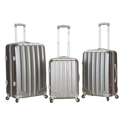 3-Piece Metallic Polycarbonate/ABS Upright Set