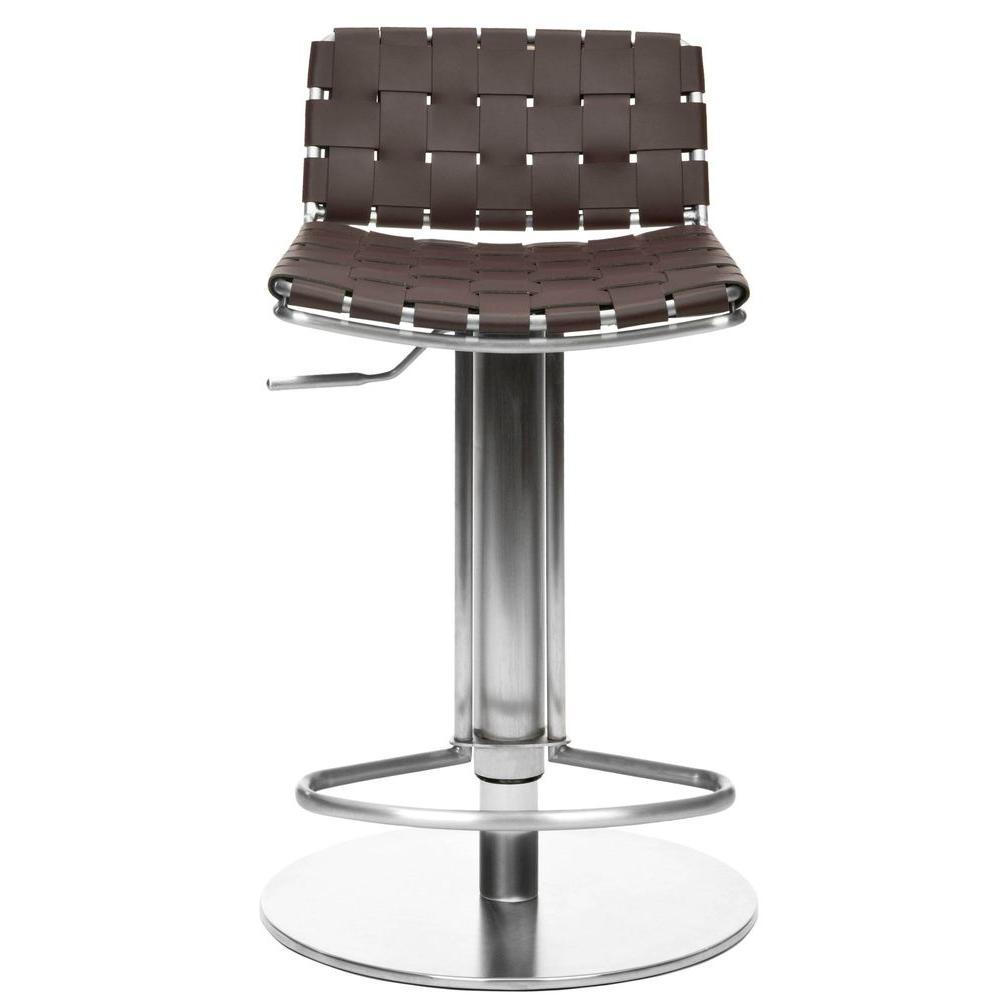 Floyd Adjustable Height Stainless Steel Bar Stool