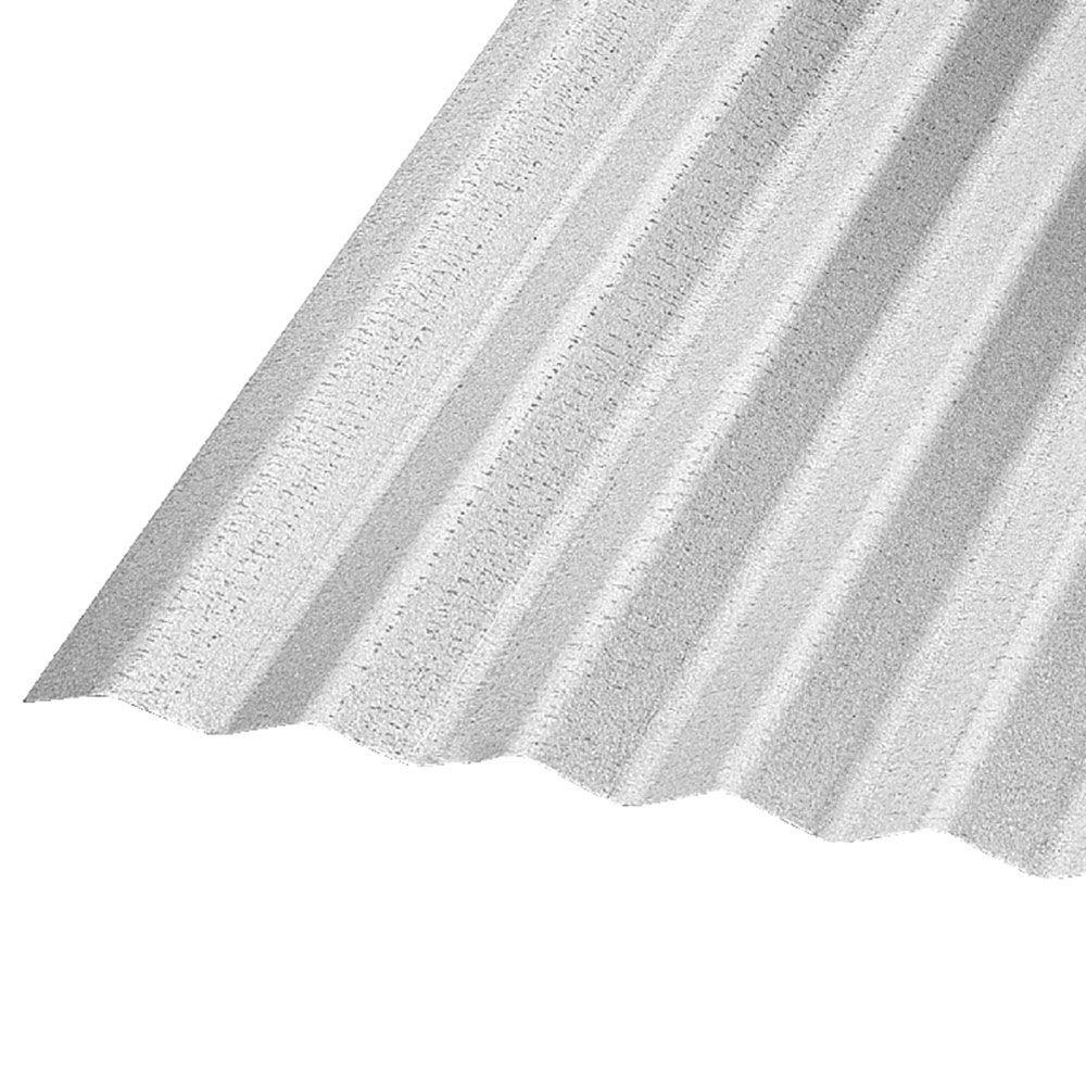 Corrugated Galvanized Steel 29 Gauge Roof Panel CR6G U   The Home Depot