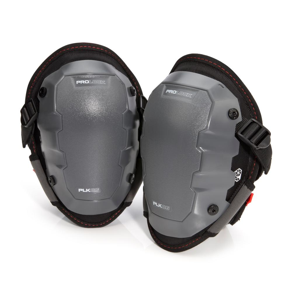 PROLOCK 2-Piece Gel Knee Pad and Non-Marring Cap Attachment Combo Pack