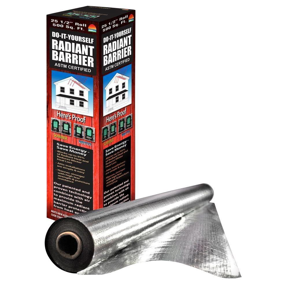 Reach Barrier 255 In X 250 Ft Silvertanium Reflective Attic