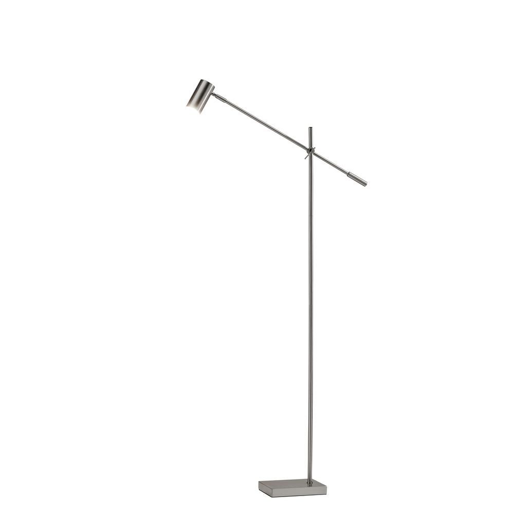 63 in. Steel Collette LED Floor Lamp-4218-22 - The Home Depot