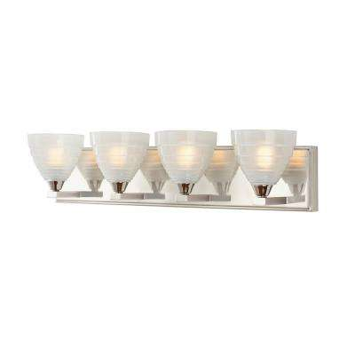 Bovoni 4-Light Polished Nickel Vanity Light