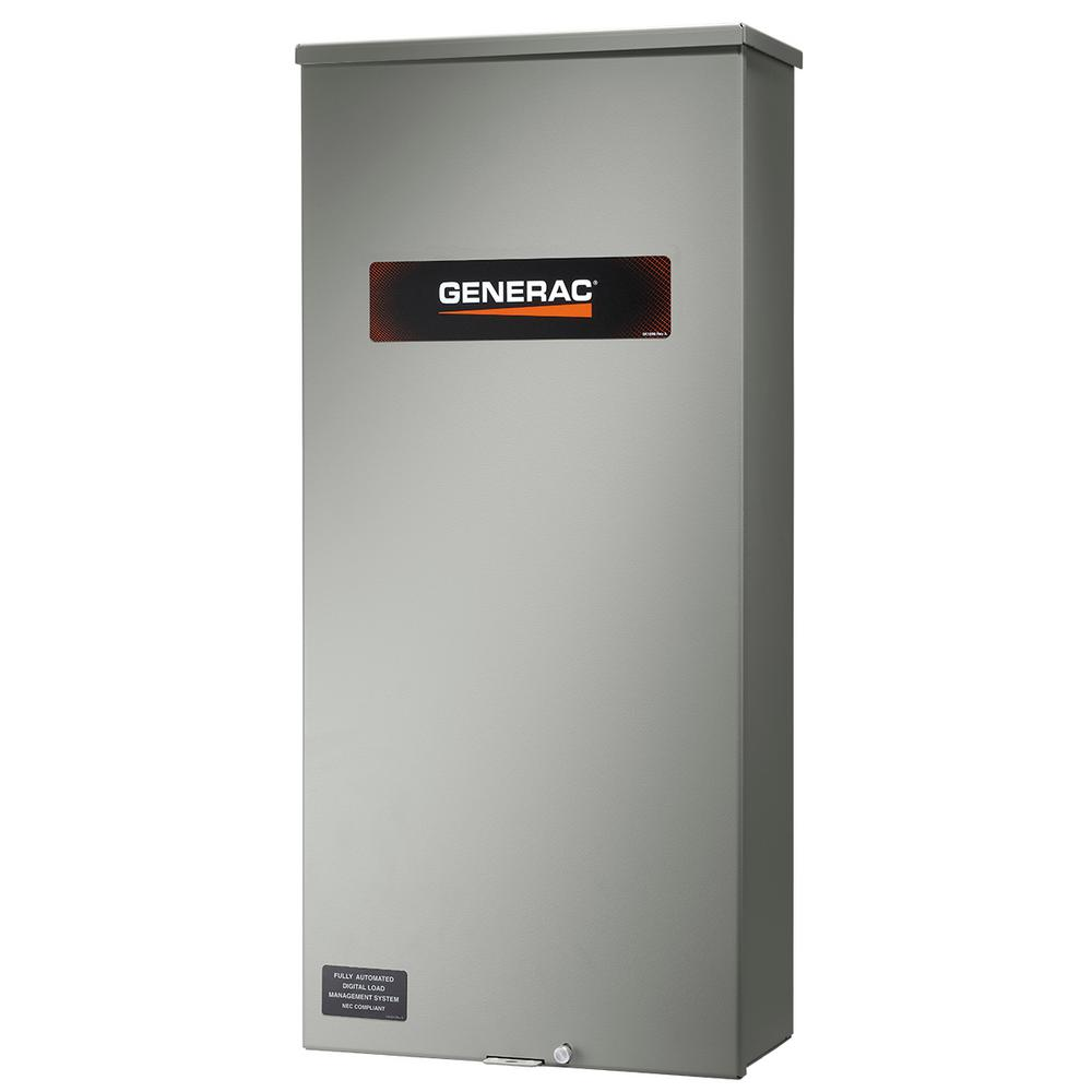 Generac 200 Amp Service Rate Whole House Transfer Switch Rxsw200a3 Wiring Diagram And Parts List For Generatorparts
