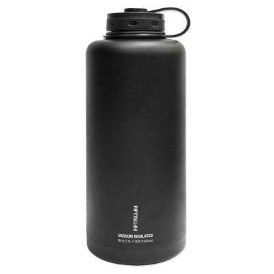 Vacuum-Insulated Barrel Growler 64 oz. Matte Black