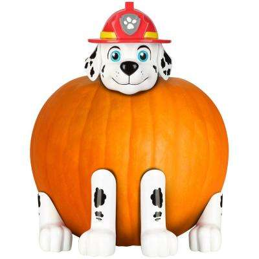 5.91 in. Pumpkin Push Ins Marshall The Fire Dog Nick Kit