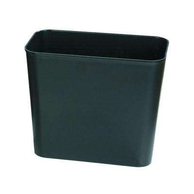 7 Gal. Black Fire-Resistant Trash Can (6-Pack)
