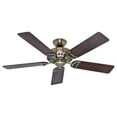 Antique Br Ceiling Fan