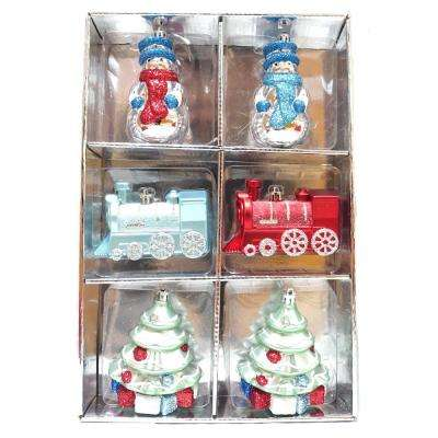 Cheerful Tiding Ornament Set (6-Count)