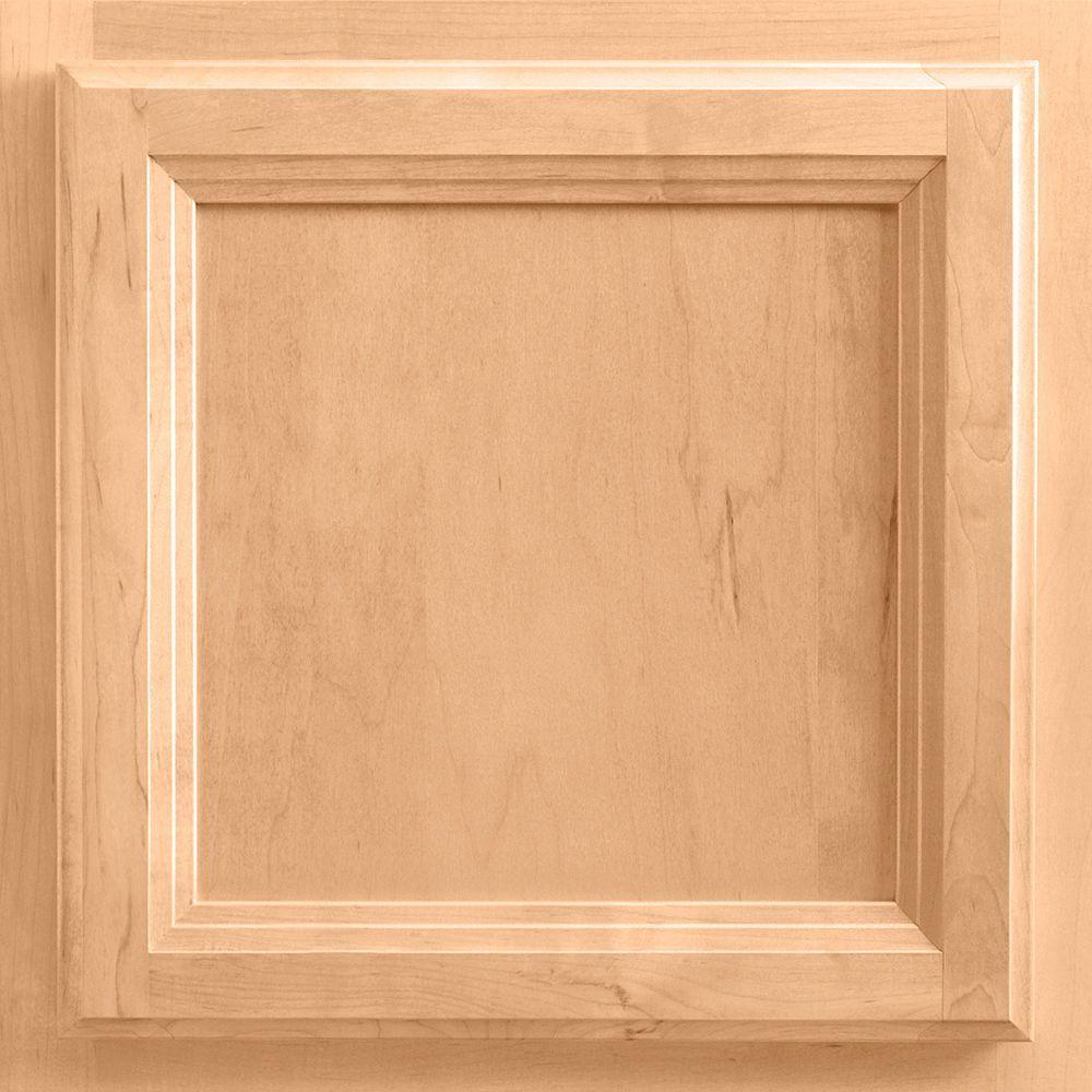 13x12-7/8 in. Cabinet Door Sample in Ashland Maple Honey