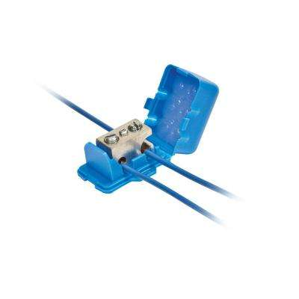 Direct Bury Lug Wire Connector, Aqua (Bag of 5)