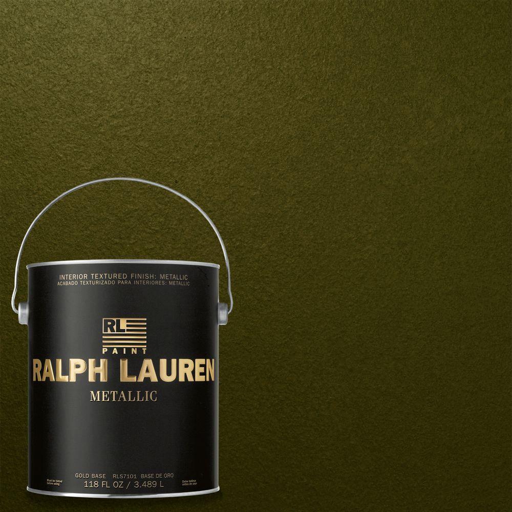 Ralph Lauren 1-gal. Polo Field Gold Metallic Specialty Finish Interior Paint