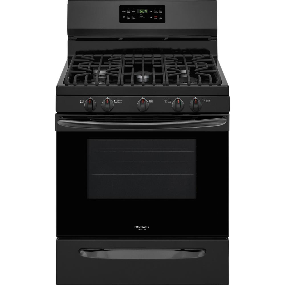 30 in. 5.0 cu. ft. Gas Range with Self-Cleaning QuickBake Convection