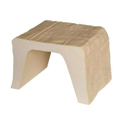 7-7/8 in. x 5-7/8 in. x 6 in. Long Unfinished Modern Faux Wood Beam Sample