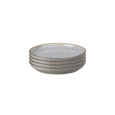 Studio Grey Small Coupe Plate (Set of 4)