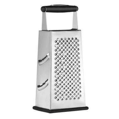 Stainless Steel Grater with Grip Handles
