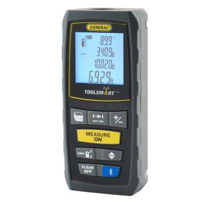 ToolSmart Bluetooth Connected Laser Distance Measurer