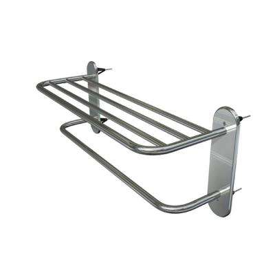 Master Series 18 in. Towel Rack with 4 Master Anchors in Satin Stainless Steel