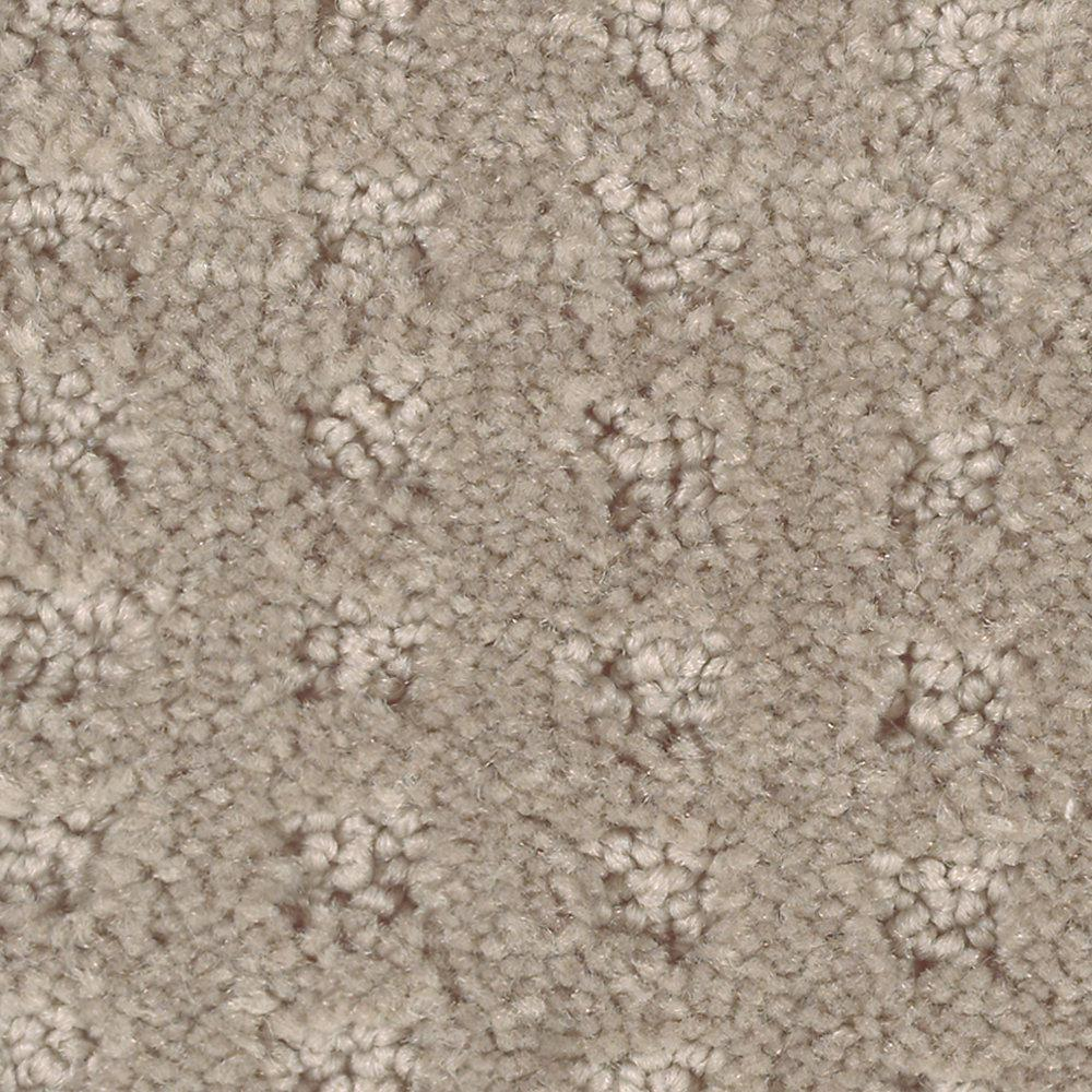 Carpet Sample - Canter - Color Eagle Rock Textured 8 in.